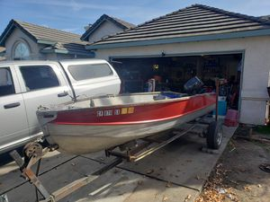 14' Aluminum boat/ OBO for Sale in Stockton, CA
