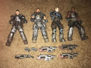 NECA Gears of War action figures for Sale in Charlotte, NC