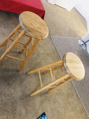 Wooden stool for Sale in Salt Lake City, UT