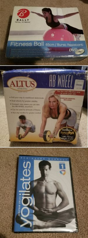 Ab workout roller ball DVD for Sale in Long Beach, CA