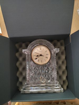 Waterford Crystal Clock for Sale in Enfield, CT