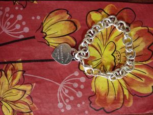 Tiffany charm bracelet, used and in good condition for Sale in Washington, DC