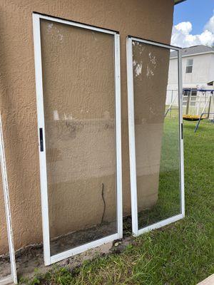 "60"" w 80"" H sliding door for Sale in Kissimmee, FL"