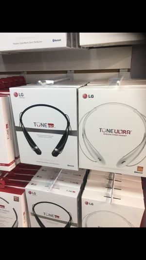 Official lg wireless headphones for Sale in Philadelphia, PA