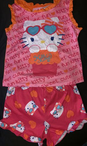 Baby girl Hello kitty pajamas size 24 months EUC for Sale in Portland, OR