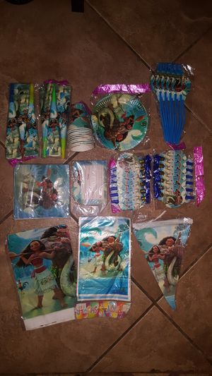 Moana Party Supplies New in Kendall for Sale in Miami, FL