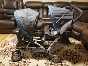 GRACO DOUBLE STROLLER DUOGLIDER for Sale in Lanham, MD