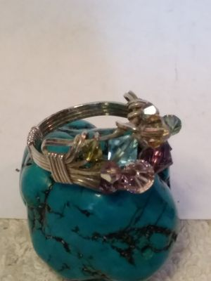 Handcrafted Sterling silver size 8+3/4 ring for Sale in Willow Street, PA