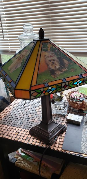 Yorkie lamp for Sale in Peabody, MA