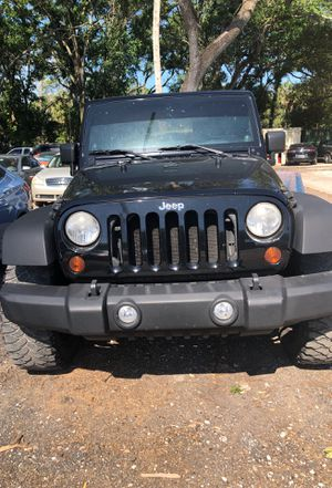 Jeep Wrangler 2010 sport unlimited for Sale in Tampa, FL