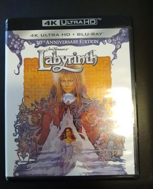Labyrinth 30th Anniv David Bowie in 4K Ultra HD for Sale in Lilburn, GA