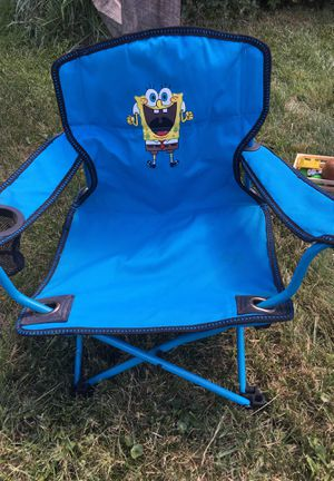 Sponge Bob folding chair for Sale in Newington, CT