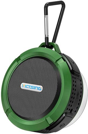 VicTsing Portable Bluetooth Speaker Waterproof Suction Cup & Hook for Sale in Los Angeles, CA