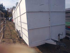 Black Friday special enclosed trailer dual axle for Sale in Santee, CA