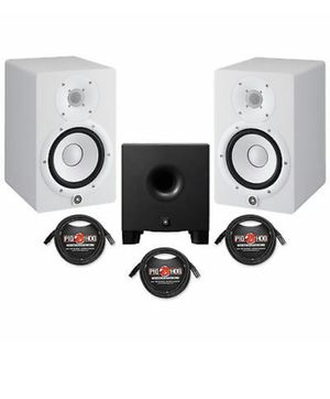 Yamaha Hs8 with Subwoofer New $850 for Sale in Margate, FL