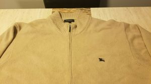 Vintage Burberry Zip up Sweater sz L for Sale in Raleigh, NC