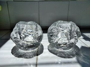 Vintage Large Kosta Boda Snowball Candle Holders for Sale in Norwalk, CA
