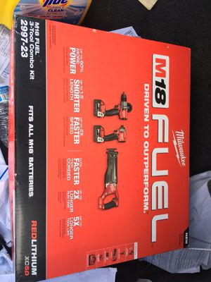 M18 3 tool combo kit $270 for Sale in Plantation, FL