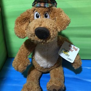 KOHL'S Cares Plush Brown Puppy GO DOG GO Stuffed Animal Toy 15 IN with original store tag for Sale in Las Vegas, NV