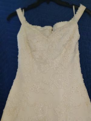 77 Views! Final. Demetrios off white beautiful wedding dress, size 10 for Sale in Tampa, FL