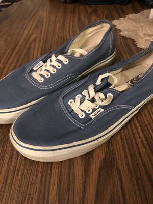 Blue Vans size 10.5 for Sale in Bloomington, IN