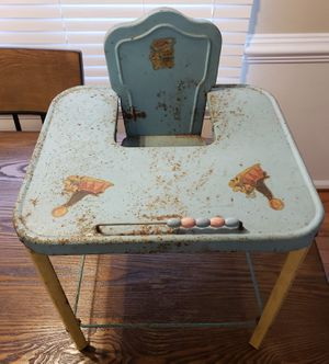 Antique Doll Highchair for Sale in Chesapeake, VA