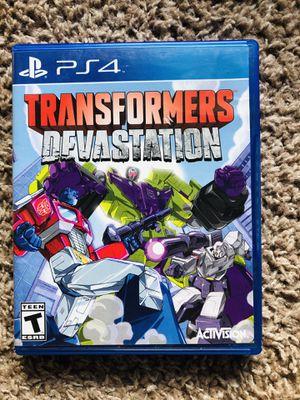 PS4 Transformers: Devastation for Sale in Nashville, TN