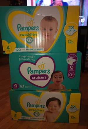 Pampers Swaddlers for Sale in Dallas, TX