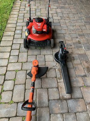 Lawn mower/blower/trimmer for Sale in Orlando, FL