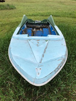 Free 14 foot boat bring trailer for Sale in Kingsley, MI