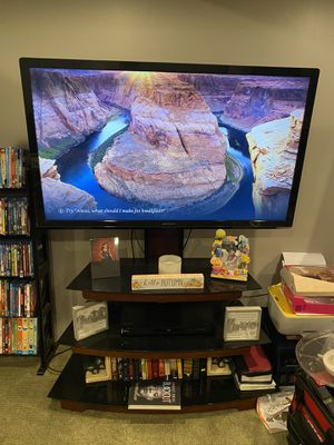 """50"""" TV and Stand for Sale in Claremont, CA"""