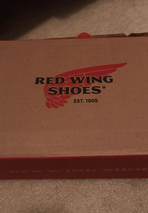 Red Wing steel toe boots worn once- size 9.5 women for Sale in Houston, TX