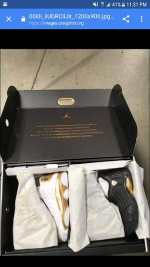 Jordan championship pack size 10 with receipt for Sale in San Diego, CA