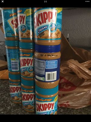 12 jars of peanut butter brand new kitchen food for Sale in Bellflower, CA