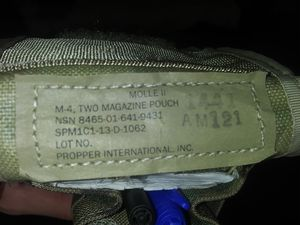 Army gun magazine pouch for Sale in Amarillo, TX