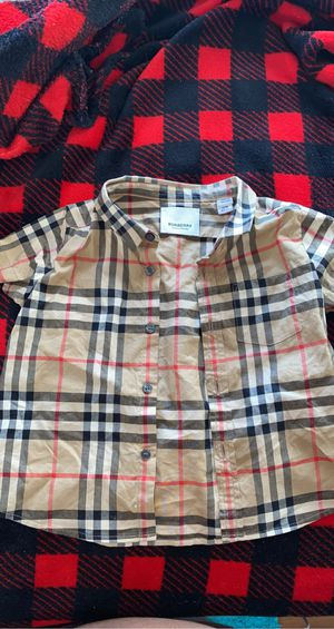 Burberry Buttdown& Moncler onesies 12 to 18 months for Sale in North County, MO