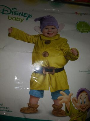 $25 Disney Dopey costume 12 - 18 months baby for Sale in El Monte, CA