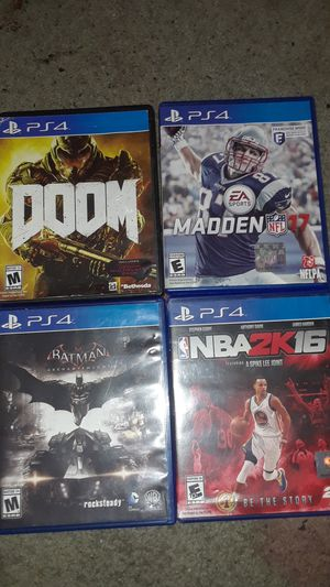 Ps4 games for Sale in Kingsport, TN