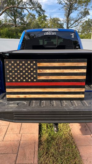 Thin red line American flag for Sale in Richmond, VA
