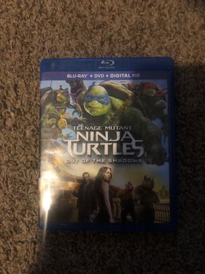 Blue ray teenage mutant ninja turtles out of the shadow for Sale in Reading, PA