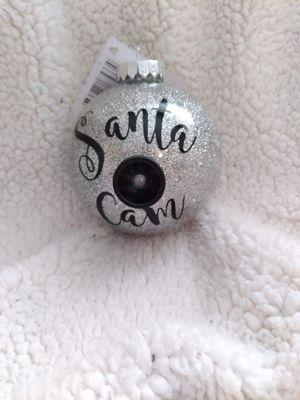 Santa Cam Ornament for Sale in Grand Prairie, TX