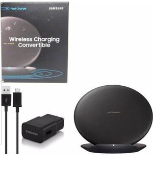 Samsung s9 wireless charger charges all phone that are capable of wireless charge for Sale in Goddard, KS