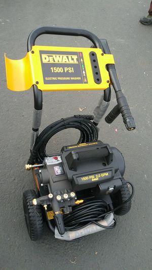DEWALT pressure washer electric for Sale in Modesto, CA