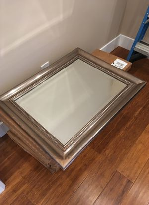 Wall mirror in a frame for Sale in San Carlos, CA