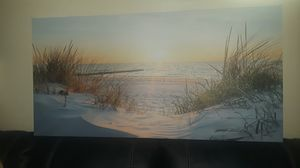Beautiful beach scene canvas picture. for Sale in Surprise, AZ