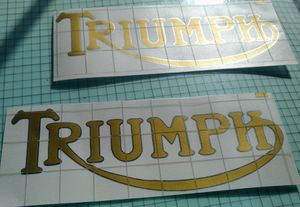 Triumph Vinyl Decals for Sale in La Mirada, CA