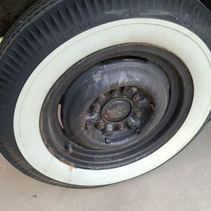 CHEVY STOCK RIMS AND TIRES, CAPS for Sale in Stockton, CA