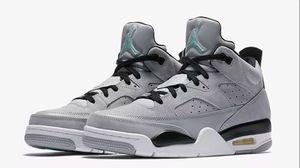 Nike Air Jordan Grey and Mint for Sale in Arlington, VA