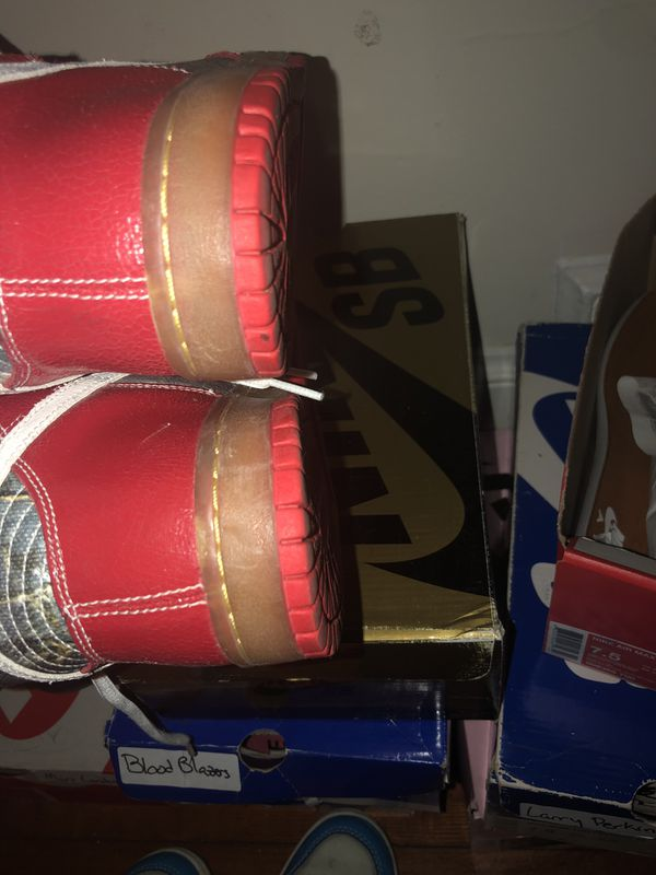 Nike sb dunk high shoe goo size 8
