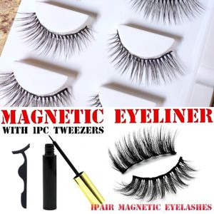 BRAND NEW 3 Pairs Magnetic Eyelashes & Eyeliner for Sale in Chandler, AZ